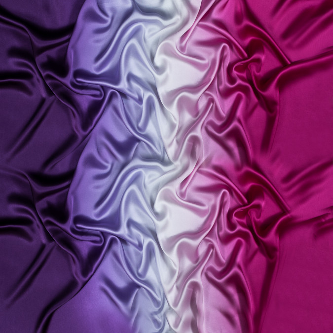 majesty purple and magenta haze ombre silk charmeuse 318595 11