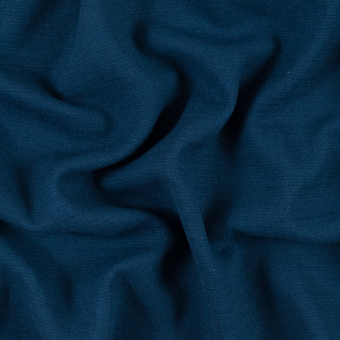 majolica blue creped wool double cloth 315191 11