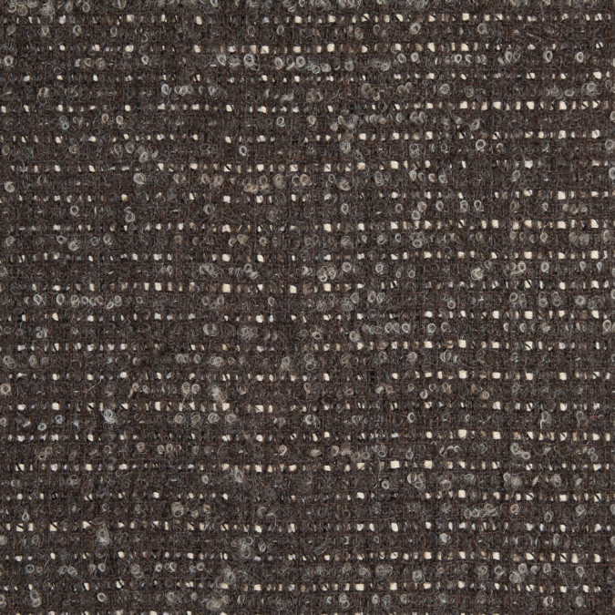major brown pristine blended wool boucle 310926 11