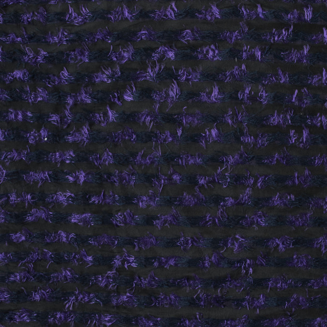 meadow violet and black striped peek a boo polyester woven 315493 11