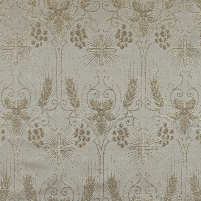 metallic gold and beige vestment jacquard 318349 11