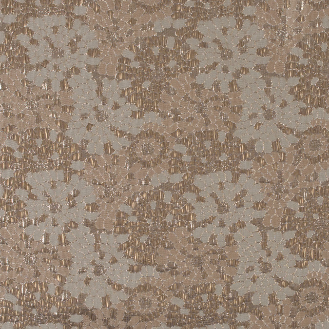 metallic gold and sun kiss beige floral brocade 315322 11