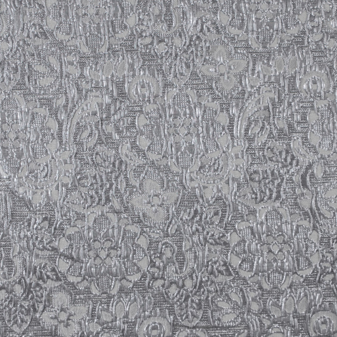 metallic gray on gray floral brocade 315811 11