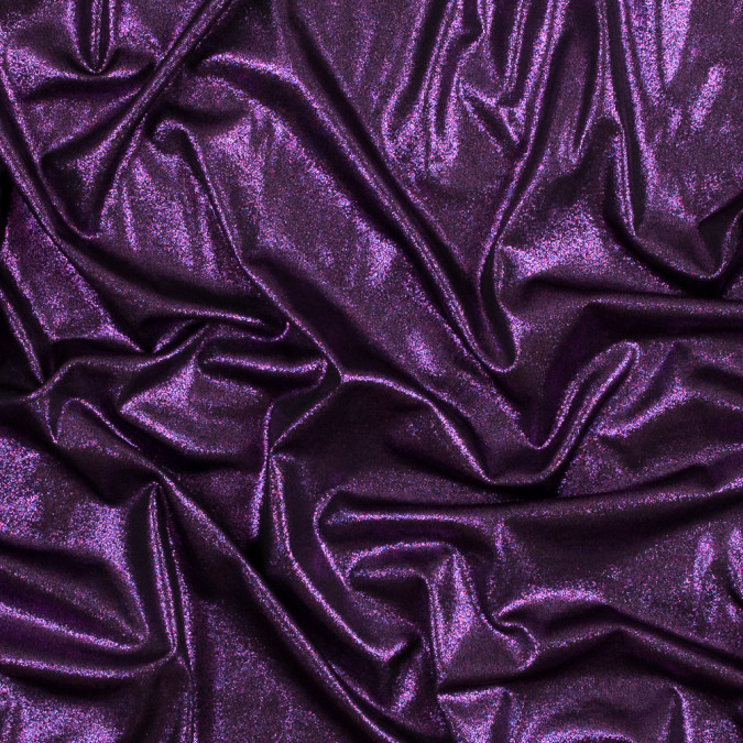 metallic hyacinth violet all over foil knit 317263 11