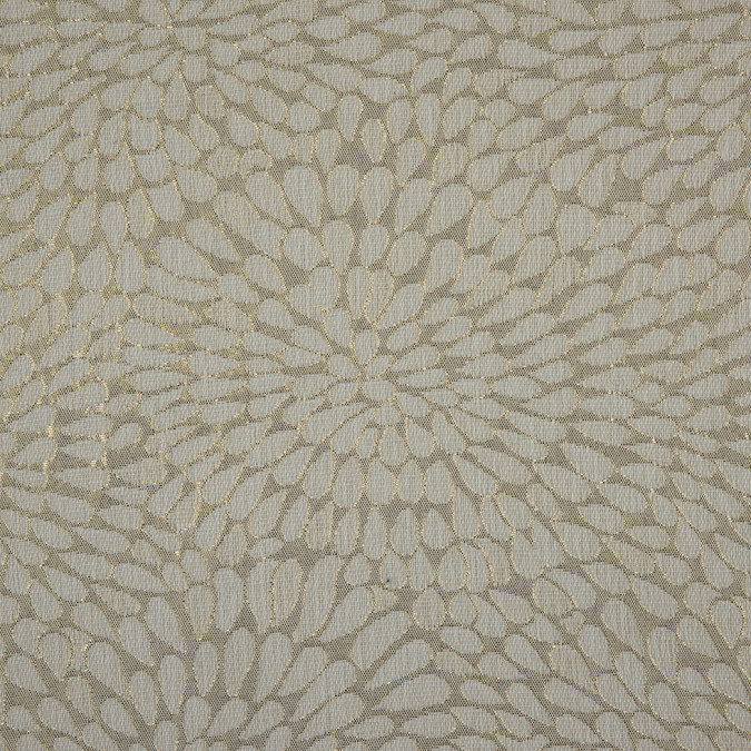 metallic ivory natural classical polyester jacquard brocade 311051 11