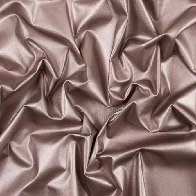 metallic rose gold faux leather with white cotton twill backing 315342 11