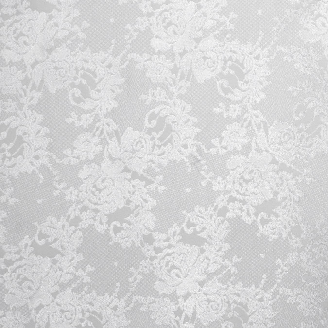 metallic white on white floral brocade 316671 11