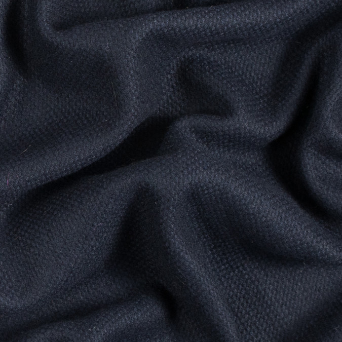 midnight navy soft blended wool woven 310611 11