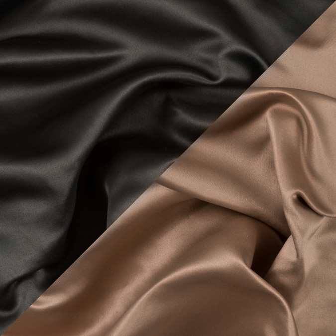 military green and tan two tone double duchesse satin 312583 11