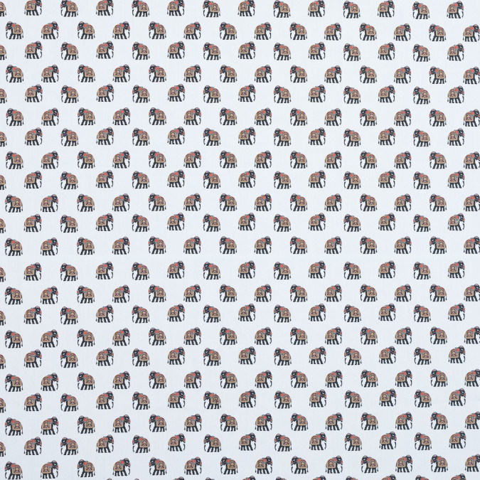 mood exclusive le cirque charmant elephant printed cotton poplin md0039 11