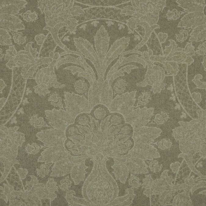 moss green unconventional damask wool blend 319108 11