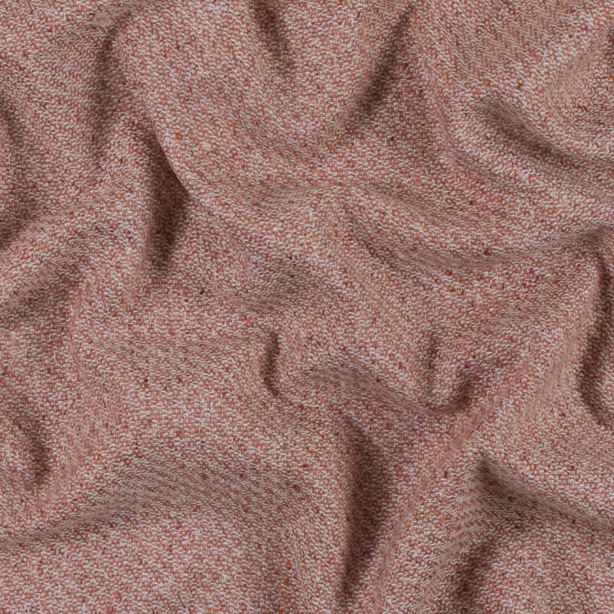 muted clay creped wool tweed 313386 11