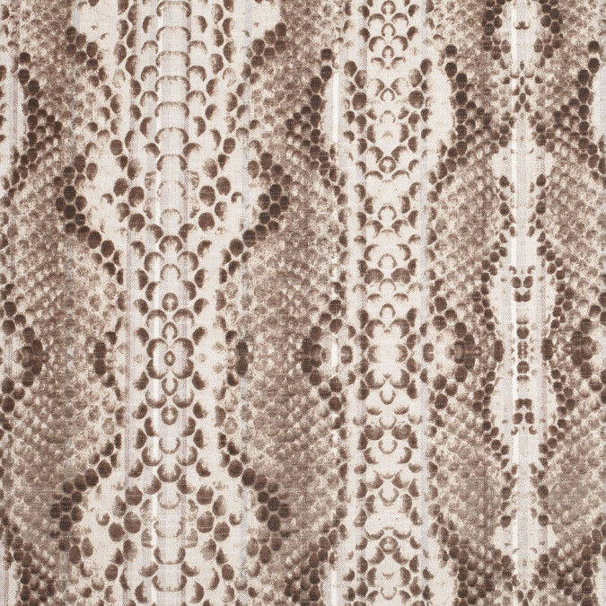 natural animalistic blended stretch linen woven 307878 11