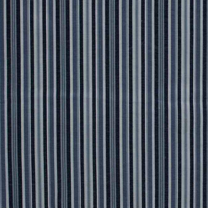 navy and light blue barcode striped cotton corduroy 319320 11