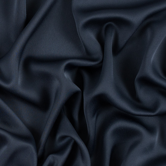navy satin faced polyester crepe 310971 11