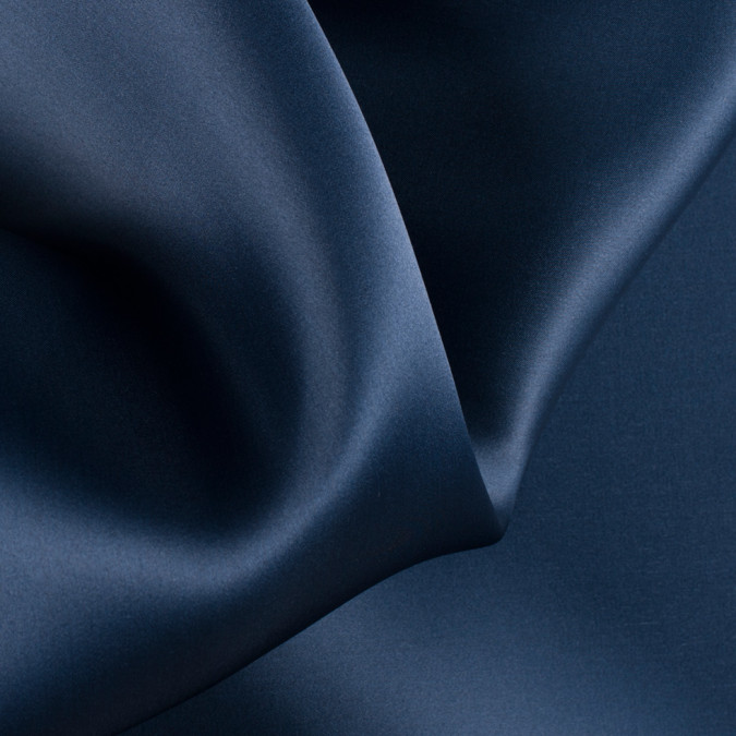 navy silk satin face organza pv4000 194 11