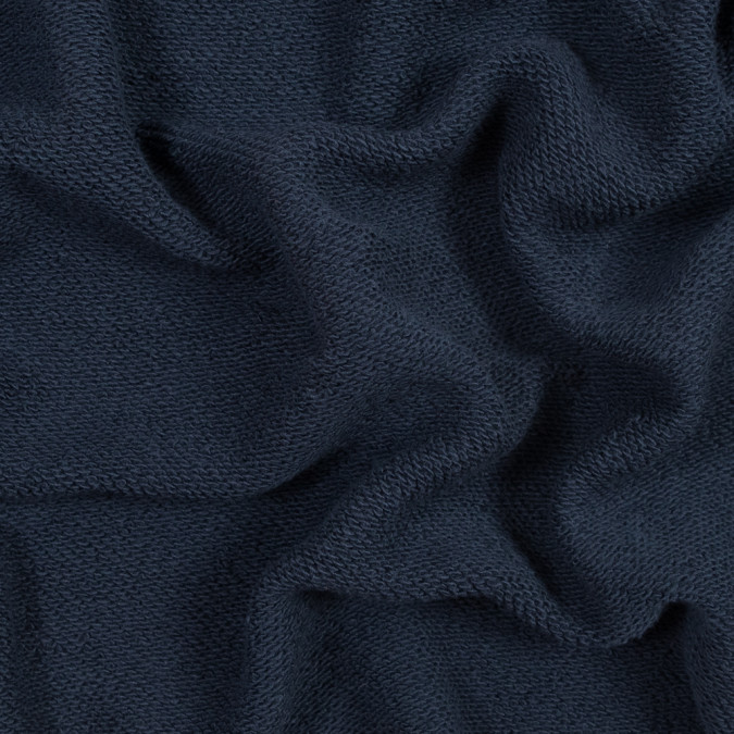 navy thick cotton french terry 316155 11