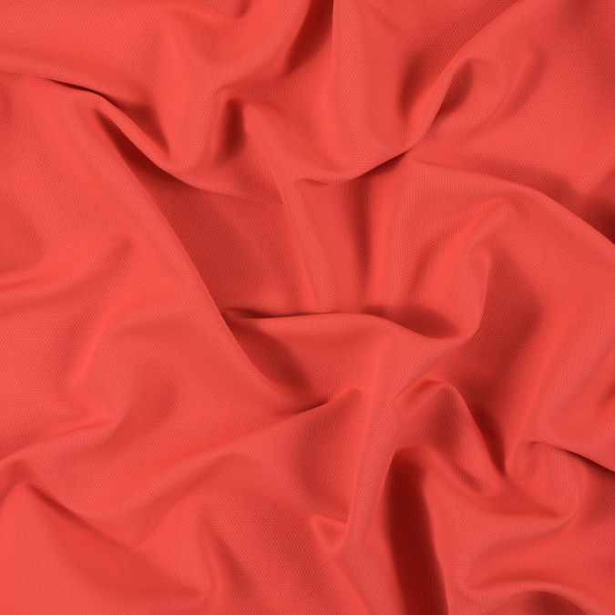 neon orange polyester and bamboo wicking fabric 312444 11