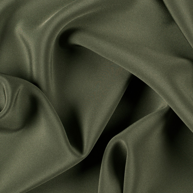 olive green silk 4 ply crepe pv7000 142 11