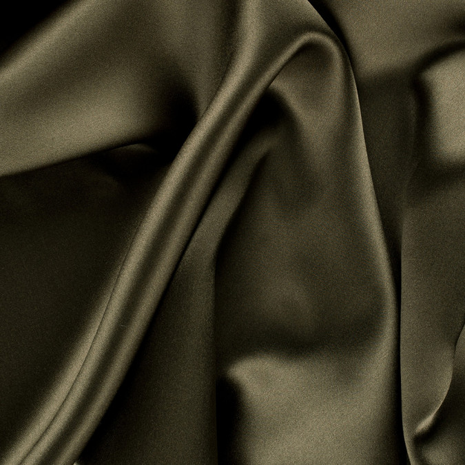 olive green stretch silk charmeuse pv1500 142 11