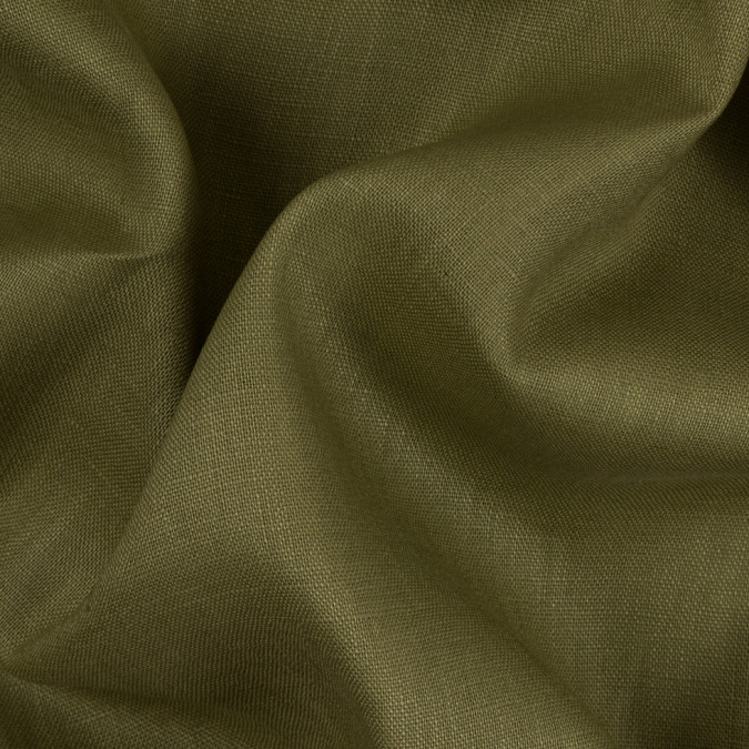 olive medium weight linen 310668 11