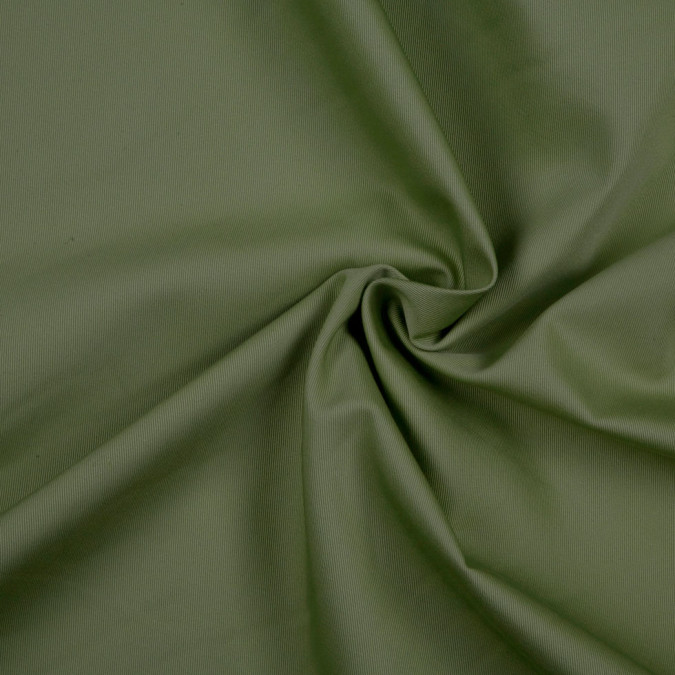 olive solid organic cotton twill fc8705 11
