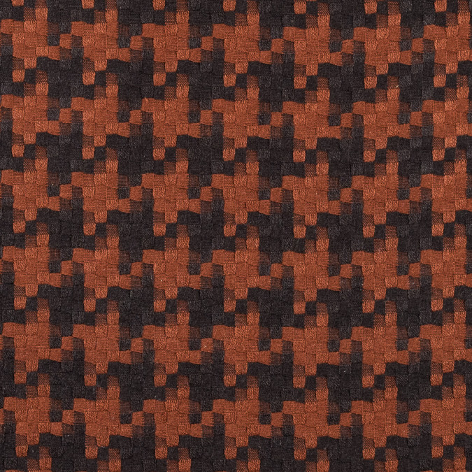 orange and turkish coffee dynamic woven polyester coating 315181 11