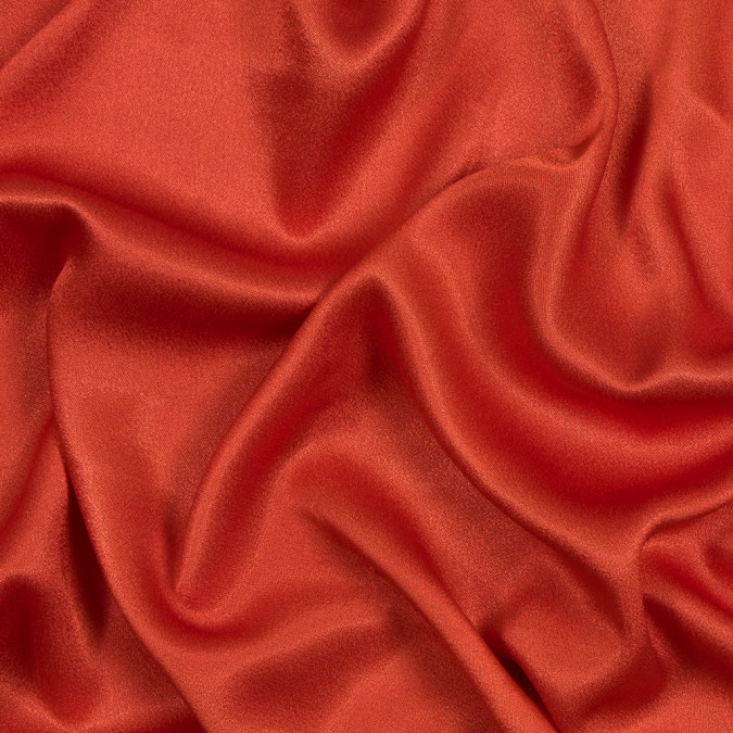 orange crepe back satin with give 317385 11