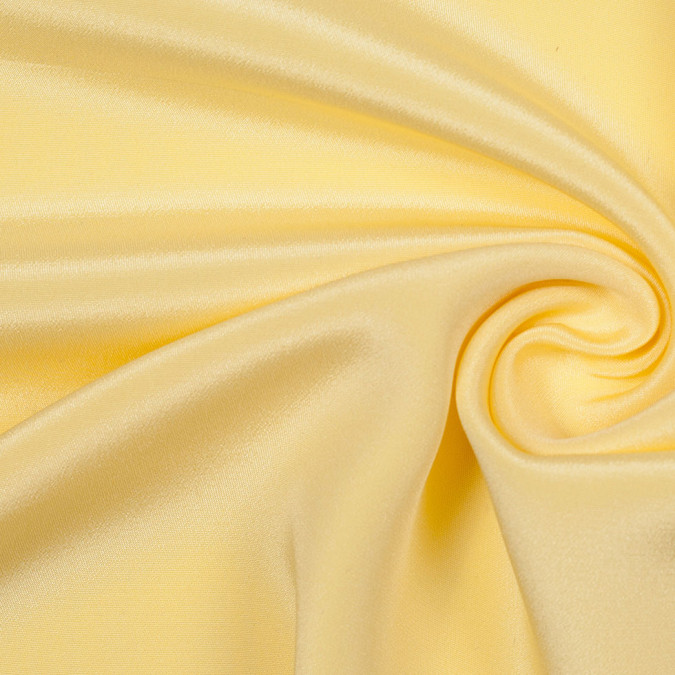 pale banana yellow silk crepe de chine 304780 11