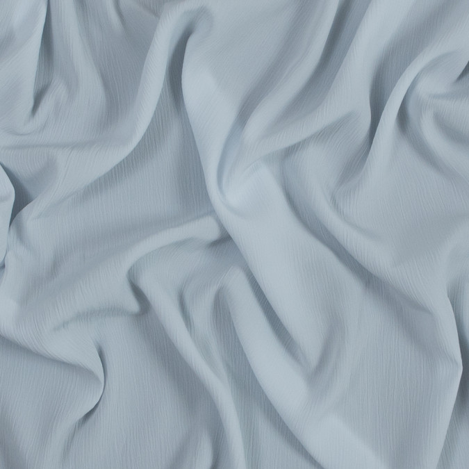 pale blue crinkled polyester crepe de chine 318989 11