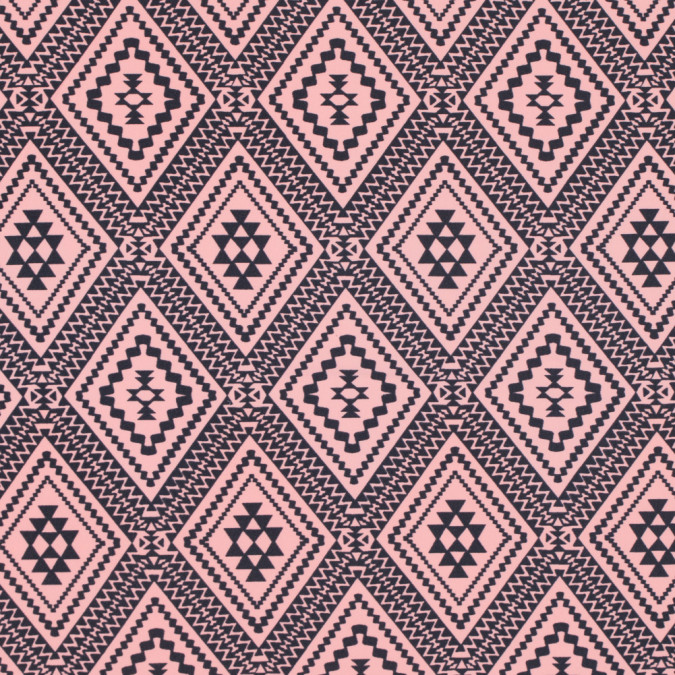 peach amber and pewter tribal printed nylon spandex 313482 11