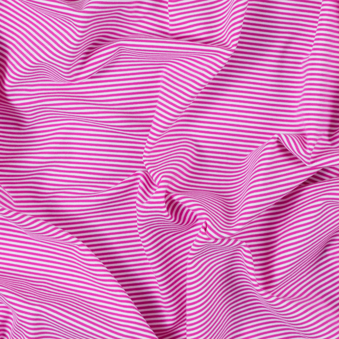 pink and white candy striped stretch eclon jersey 312464 11