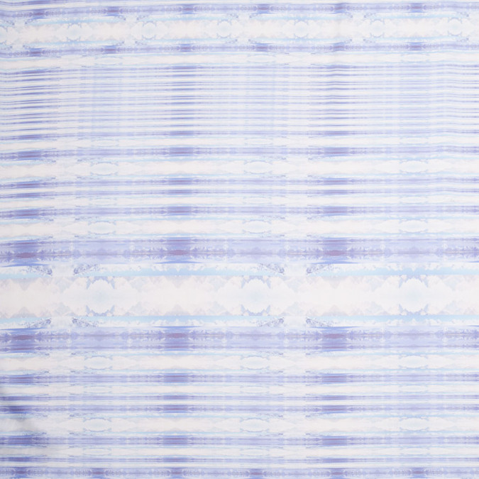 purple blue organic stripes digitally printed polyester charmeuse 307429 11