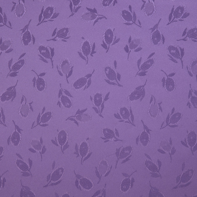 purple heart floral woven polyester lining 309962 11