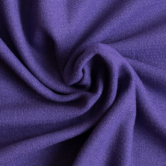 purple opulence loosely woven wool crepe 309324 11