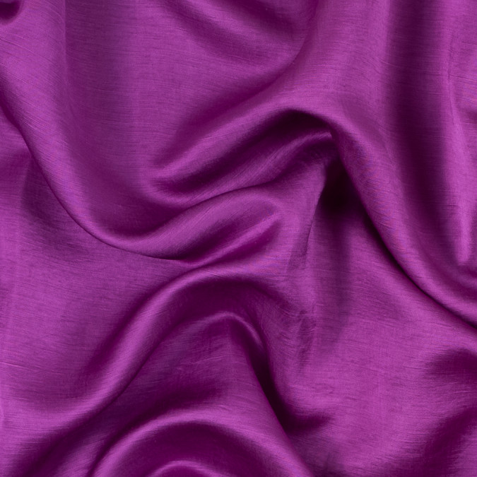 purple orchid rayon and polyester slubbed satin 312182 11