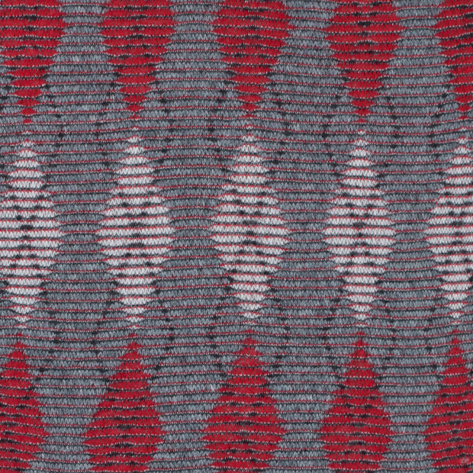 red and gray argyle wool knit 301150 11