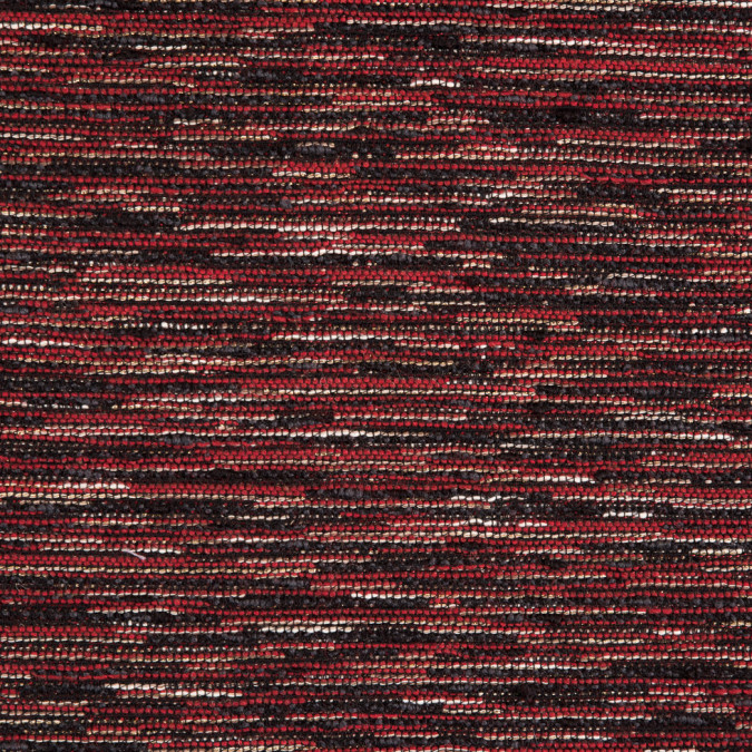 red black gold blended wool tweed 310045 11