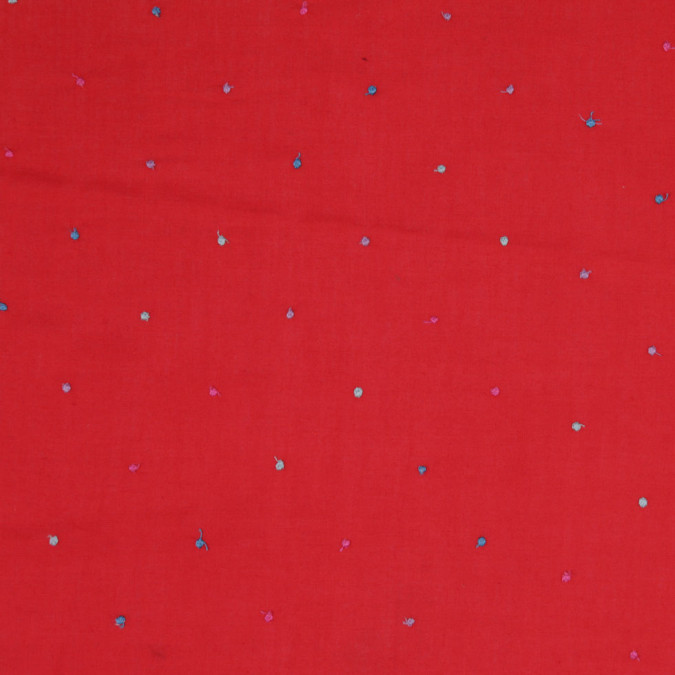 red multicolor polyester dotted swiss fp25278 11
