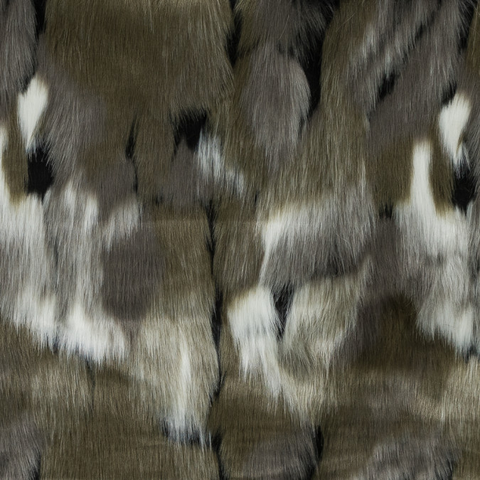 rifle green abstract faux fur 317803 11