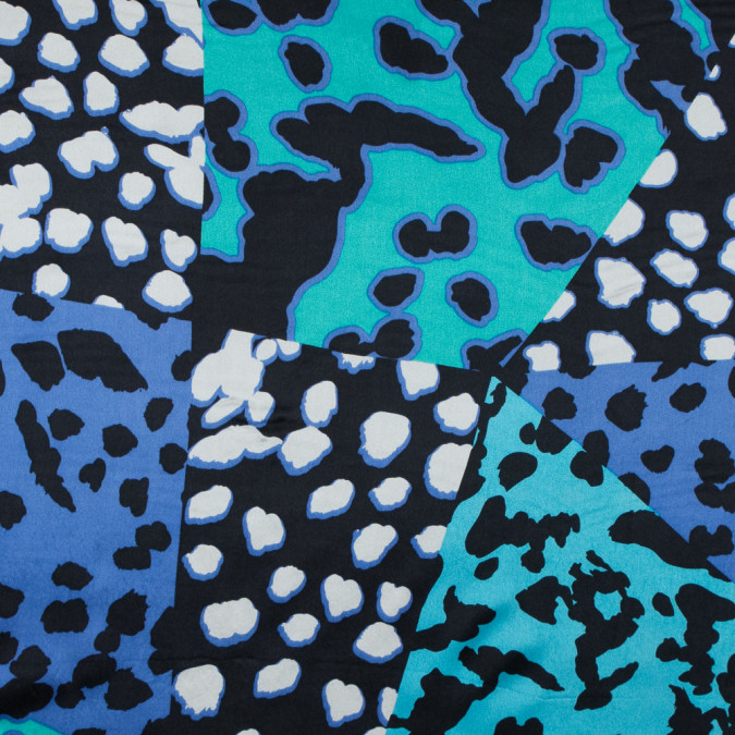 riverside blue and alhambra abstract printed silk charmeuse 315721 11