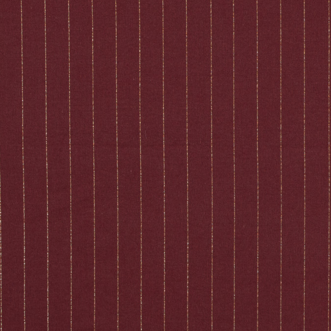 rosewood cotton lawn with metallic gold pinstripes 313951 11