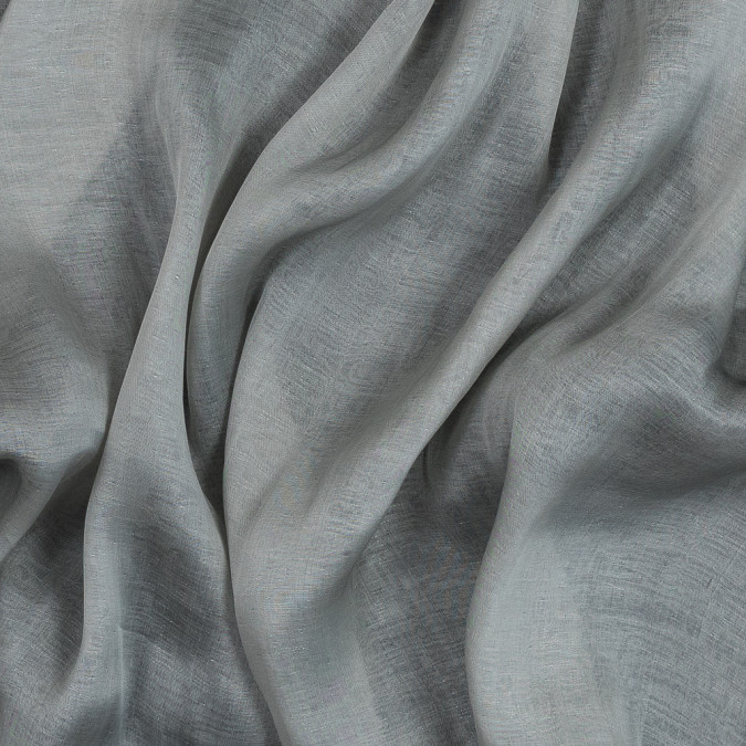 silver and pale gray silk double cloth encasing metallic threads 319332 11