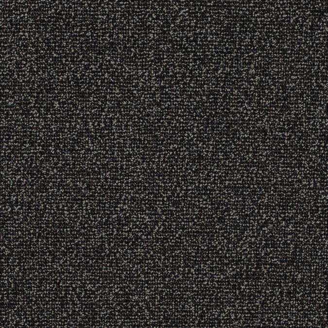 slate black and gravel boucled stretch wool tweed 314208 11