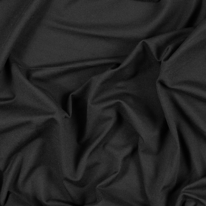 solid black stretch polyester jersey 312688 11