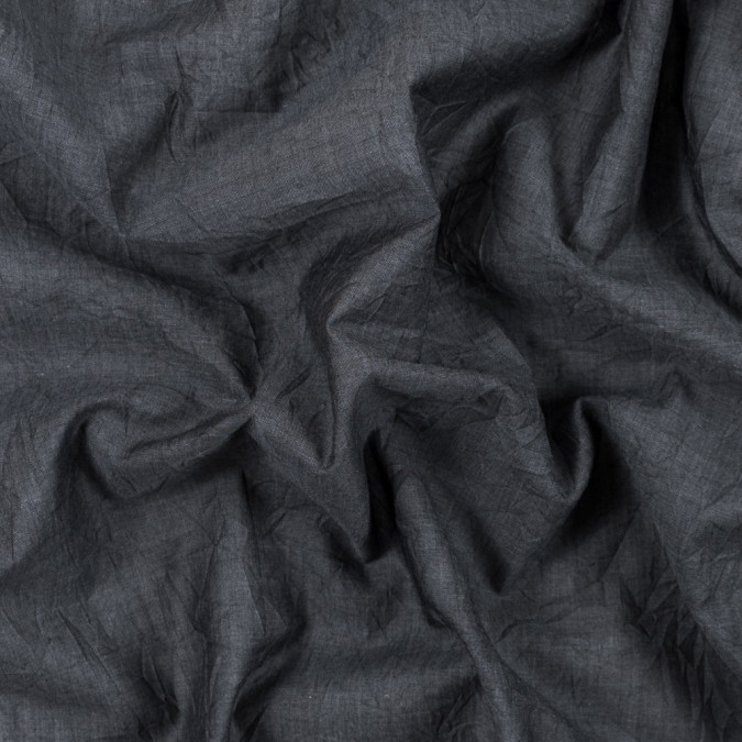 steven alan castlerock gray crinkled cotton voile 315332 11