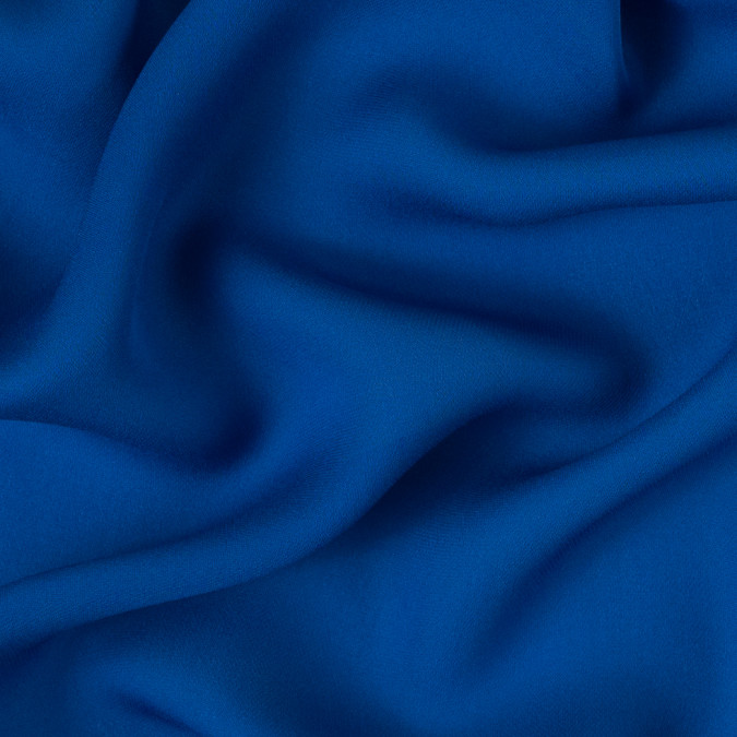 strong blue silk georgette 310107 11