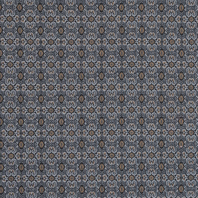tan and gray printed cotton twill with solid navy reverse face 318376 11