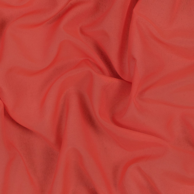 theory orange punch silk and cotton voile 317675 11