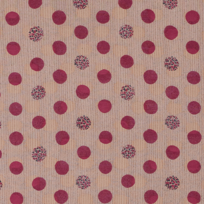 tocca polka dotted and flocked silk cotton voile 311871 11